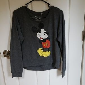 Disney Grey Medium Sweatshirt